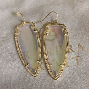 Clear Iridescent Skylar Earrings